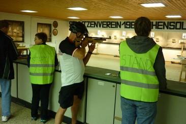 Schuetzenverein Hohensolms - Schießen und biken - Trainigseinheiten und feste Termine im Schützenverein Hohensolms